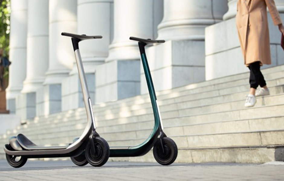 The World's First 3D Printed Composite E-Scooter